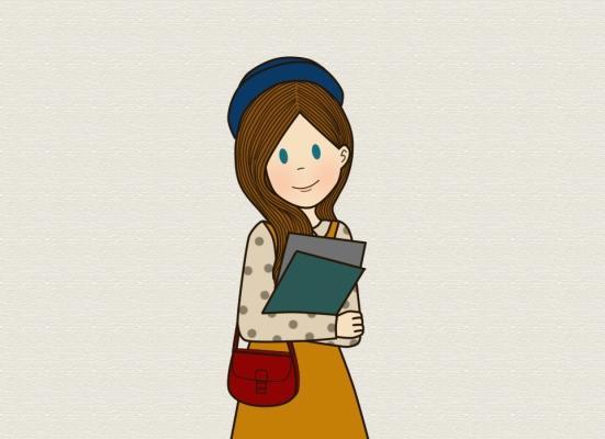 a-girl-holding-folders