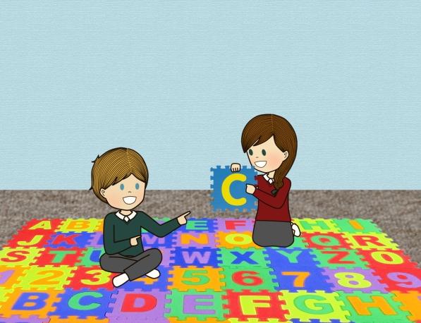 alphabetic mat